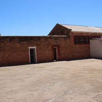 Large open area in Gladstone Gaol